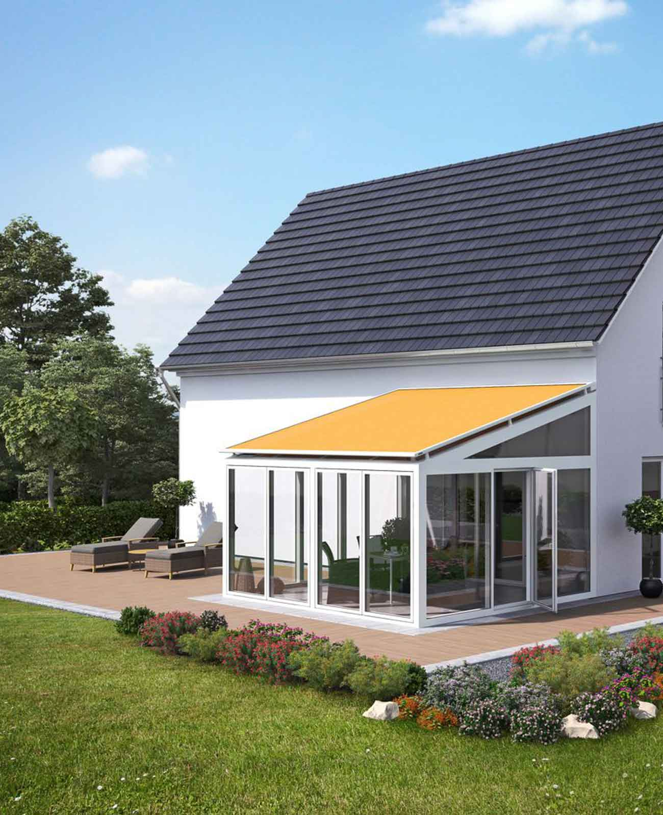 Awnings and Dutch Supplier in Lurgan, Northern Ireland - Apex Blinds